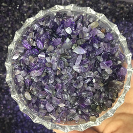 $enCountryForm.capitalKeyWord NZ - 100g Natural amethyst crystals gravel amethystine quartz raw rock gemstone crystal chips healing mineral degaussing for decor