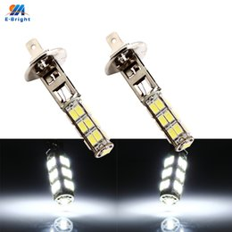 h1 smd fog lamp 2019 - 2PCS H1 H3 5630 25 SMD Auto LED Car Fog Light DC 12V Headlamp 500LM Car Styling White Driving Lamps Auto Bulbs Fog Lamps