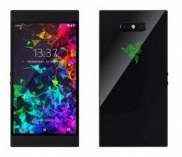 "Wholesale Original Razer Phone 2.0 4G LTE Cell Phone 8GB RAM 64GB ROM Snapdragon 845 Octa Core Android 5.72"" 12.0MP Fingerprint ID Smart Mobile Phone"