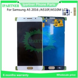 samsung a5 touch display Australia - 5.2 Inch for Samsung for Galaxy A5 A510F A510M A510 LCD Display Touch Screen Digitizer Assembly Replacement Parts Tools