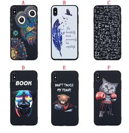 b4b18981c2 Owl Feather Soft TPU Case For Samsung Galaxy S10 S10E Plus NOTE9 S9 S8  Iphone X XR XS Max 8 7 6 6S 5 5S Dog Cat Don't Touch My Phone Cover