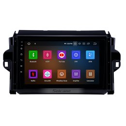Gps Transmitter 3g NZ - 9 inch Android 9.0 HD Touchscreen Car Stereo GPS Navigation for 2016-2018 Toyota Fortuner with Bluetooth USB WIFI support Car dvd 3G 4G DVR