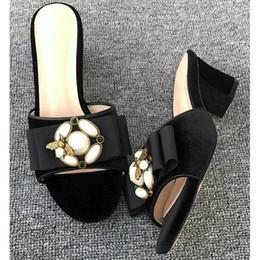 $enCountryForm.capitalKeyWord Australia - (With Box+Dust Bag) New Leadcat Fenty Rihanna Shoes Women Bowtie Slippers Indoor Sandals Girls Fashion Scuffs White Grey Pink Black Slide