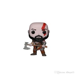 toys kratos Canada - LXH pop FUNKO POP New Style God of War Kratos Vinyl Action Figure brinquedos Collection Model toys for Children birthday Gift