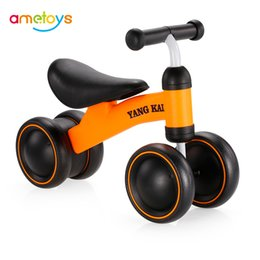 Plastic Pedals Australia - Three Wheel Children Balance Bikes Scooter Baby Walker Infant 1-3years Scooter No Foot Pedal Driving Bike Gift for Infant 2019 D1 41