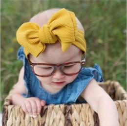$enCountryForm.capitalKeyWord Australia - hair bows for girls designer headbands for kids cloth butterfly hairbands for children fashion girl headbands baby solid hair accessories