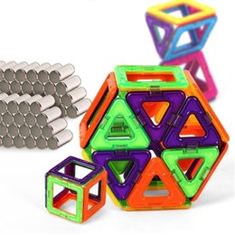 $enCountryForm.capitalKeyWord Australia - ifts directory 108 pcs Standard Size DIY Magnetic building blocks magic magnet pulling magnetic building blocks assembled gifts for child...