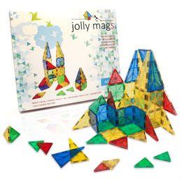 Magnetic Building Toys For Children Australia - 32 Piece Clear Tile Magnetic Puzzle Bricks Toys for Children Infant Hands-on Toys with Magnetic Mttraction Building Educational