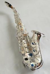 Yanagisawa S-901 Cou Courbé BbTune Nickel Argent En Laiton Sondage Saxophone Instrument Pour Étudiants Avec Étui Cadeau en Solde