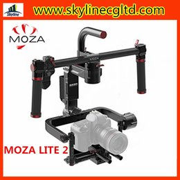 Camera Gimbal Dslr Australia - MOZA Lite 2 II 3-Axis Motorized Handheld Gimbal Brushless Stabilizer Support 5kg Blackmagic Sony A7S2 BMCC BMPCC DSLR Camera