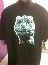 Wholesale silk screened t shirts online – design Godzilla T shirt Silk Screen High Quality New Toho