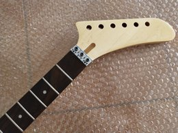 $enCountryForm.capitalKeyWord NZ - Maple 22 Fret Electric Guitar Neck Banana headstock For ST style Floyd Rose nut