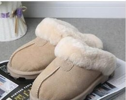 Leather pajamas online shopping - 2020 cotton slippers men women snow boots warm casual indoor pajamas party wear non slip cotton drag large size women s shoes size