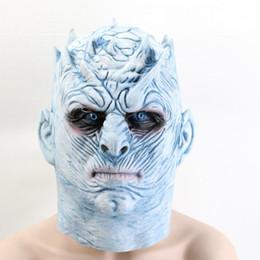 $enCountryForm.capitalKeyWord Australia - Game Of Thrones Halloween Mask Night's King emulsion Halloween mask Adults Cosplay Costume Party free shipping