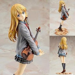 $enCountryForm.capitalKeyWord NZ - Miyazono Kaori Your Lie In April Aniplex Japanese Anime Figures Action Toy Vegeta Kakarotto Pvc Model Collection For Best Gift