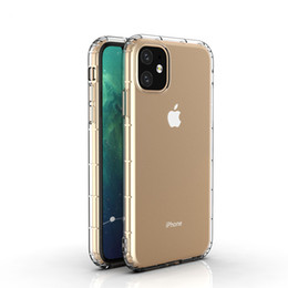 Crystal gel Case online shopping - Perfect fit For NEW iPhone Pro MAX X XS Crystal Gel Airpillow Case transparent Soft TPU Clear Cases For Samsung S10