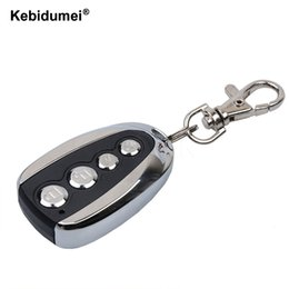 remote control car cloning NZ - Cheap Remote Controls kebidumei Remote Control Cloning Gate for Garage Door Car Alarm Products Keychain 433 Mhz