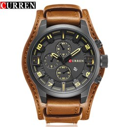 $enCountryForm.capitalKeyWord NZ - Curren Top Brand Luxury Quartz Watches Men's Sports Quartz-watch Leather Strap Military Male Clock Fashion New Gift Relogio Y19051302