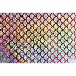 HolograpHic lure online shopping - 6 x21cm Holographic Adhesive Film Flash Artificial Fish Scale Skin Jig Sticker Hard Baits Lures Sticker Fly Tying