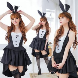 2b8094912 Sexy lingerie Halloween Christmas club role-playing dovetail bunny costumes hot  girl passion lingerie NB-774