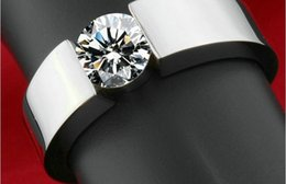 $enCountryForm.capitalKeyWord NZ - 316L Stainless Steel Wedding Band Ring for Men and Women European Style Titanium Rings K3497