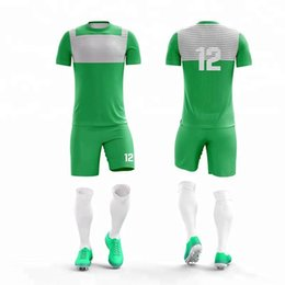 dc7131f9746 Kids Adult personality Team Soccer Uniforms Moisture Wickingg Football Kit  Men child Futbol Training Uniforms set Boys Sports jersey