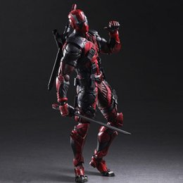 Hot art models online shopping - 2019 Hot selling Play Arts Marvel cm Deadpool Original PVC Action Figure Model ToysMovie hero model