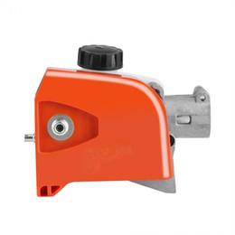 $enCountryForm.capitalKeyWord Australia - Tree Chainsaw Gear Head 26mm Orange Spline Pole Saw Tree Cutter Chainsaw Gearbox Gear Head Tool 9 Spline