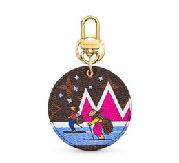 $enCountryForm.capitalKeyWord Australia - M63756 XMAS ANIMALS ANIMAL BAG AND KEYCHAIN Key Holders and More Leather Bracelets Chromatic Bag Charm and Key Holder Scarves Belts