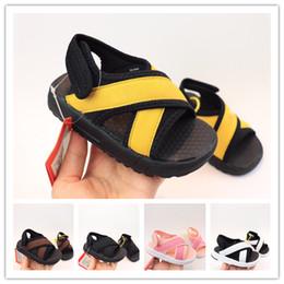 Toddler boy beach sandal online shopping - Kids Sandals Kid Designer Shoes Breathable Comfortable Infant Baby Boys Girls Beach Sandal Toddler Chaussures Pour Enfants