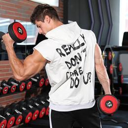 $enCountryForm.capitalKeyWord Australia - Muscle Brothers Fitness Men's Europe and America Sports Vest Fashion Running Training Basketball Sleeveless Vest Men's Hoodie