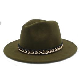 5ae2f5b216318 SombreroS online shopping - Unisex Women Men Wool Fedora Hat For Winter  Autumn Floppy Chapeu Feminino