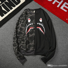 Reindeer Color Australia - SHARK 2017 mens christmas sweater with deer men pullover Ugly christmas sweater mens cheap reindeer sweater knitted ,MA155 ky