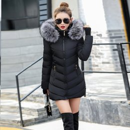ladies khaki parka NZ - Winter Jacket Women New parka women 2019 Coats Hooded Ladies Coats Female Parka Thick Cotton Padded Lining Winter Female Coats T191021