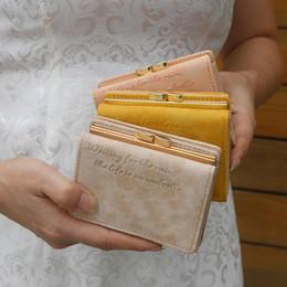fashion passport holder 2019 - New Fashion Women Solid Color Short Wallet Multi Slots Faux Leather Clutch Purse discount fashion passport holder