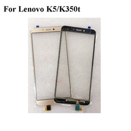 $enCountryForm.capitalKeyWord Australia - For Lenovo K5 K 5 K 350T Touch Screen With Digitizer Flex cable Sensor Panel Glass Replacement Cell Phone For Lenovo K5 K350t