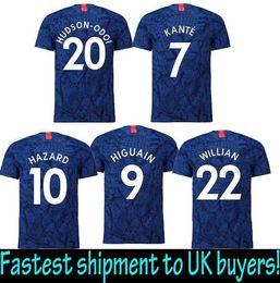 7f7c0a06d HUDSON-ODOI 2020 Camiseta chelsee Eden Hazard Chandal Football chelse  futbol XXL soccer jerseys PEDRO
