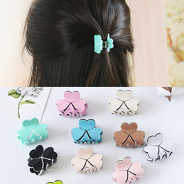 $enCountryForm.capitalKeyWord Australia - Fashion Women Elegant Acrylic Mini Hairpins Simple Colorful Clamp Hair Claw Clips Barrettes for Ladies Hair Accessories