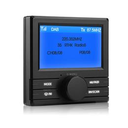 """$enCountryForm.capitalKeyWord Australia - For Car Radio DAB 003 DAB + Box Digital Radio Antenna Tuner FM Transmission 3.0"""" Display Screen"""