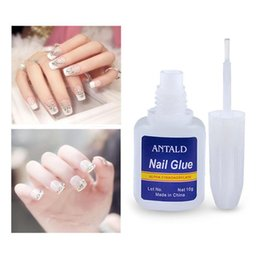 glitter glue NZ - 10g Fashion False Nail Art Paste Glitter Rhinestone Decoration Glue Quick Drying UV Gel Polish Nail Art Tool TSLM2