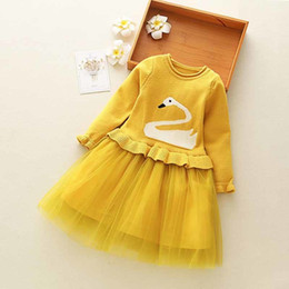 30335ec837 good quality Girls Winter Dress Thick Warm Girls Christmas Wedding Party  Princess Dresses Knitted kids clothes Girl Casual Clothes