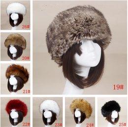 23a0f837e2f Yyun Luxury Brand Russian Cossack Style Faux Fur Headband for Women Winter  Earwarmer Earmuff Hat Ski