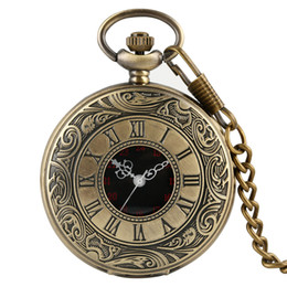 blue chain men watch Australia - Pocket Watch Arabic Numerals Dial Quartz Pocket Watches for Men Necklace Chain Pendant Watch for Women
