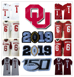 Football jersey 28 online shopping - 2019 PLAY OFF Rose bowl NCAA Oklahoma  Sooners College Kyler b6b9a092e