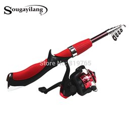 $enCountryForm.capitalKeyWord NZ - Sougayilang Carbon Fiber Rod Superhard Boat Ice Lure Fishing Rod With High Quality Fishing Reel Tackle set De Pesca