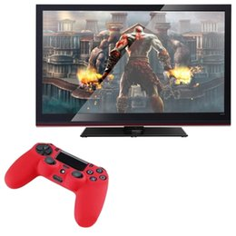 $enCountryForm.capitalKeyWord Australia - Newest black blue red Soft Silicone Rubber Gel Skin Non-slip Case Cover for PS4 Controller