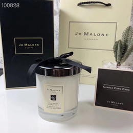 Festival Christmas Decoration Jo Malone London Christmas Crazy Candle Fragrance 200g High Quality Candles Incense in gift box Free Shipping on Sale