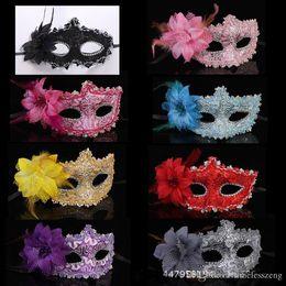 $enCountryForm.capitalKeyWord Australia - Masquerade man and women half face mask halloween party mask sexy venetian masks 8 color can choose