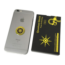 $enCountryForm.capitalKeyWord UK - Anti Radiation Sticker Quantum Shield Cell Phone radiation protection stickers anti-electromagnetic shield wave patch For iPhone Universal