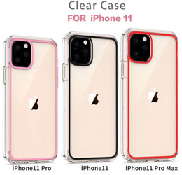 Wholesale screen for printing for sale - Group buy Transparent Acrylic Screen Printing Clear TPU PC Shockproof Phone Case Cover for iPhone Pro Max XR XS MAX S Plus